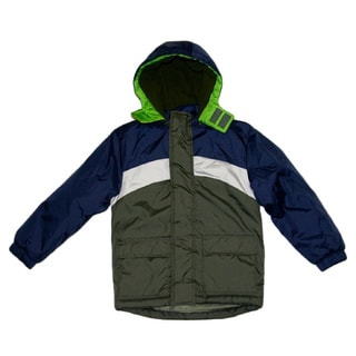 Northpoint Boys Olive Green Parka (Sizes 4-7)