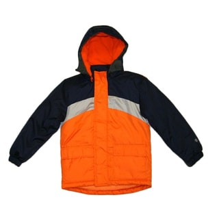 Northpoint Toddler Boys Red and Orange Parka