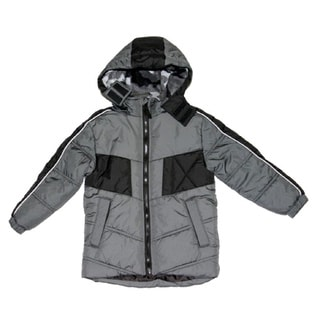 Northpoint Boys Grey Bubble Jacket (Sizes 4 - 7)