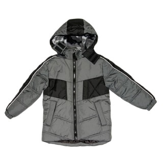Northpoint Boys Grey Bubble Jacket (Sizes 8 - 20)