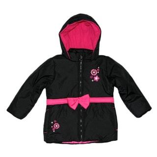 Mint Girls Black Babydoll Jacket (Size 4-6X)