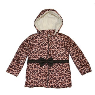 Mint Toddler Girls Leopard Print Jacket