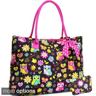 Sazy Bee Designs Quilted Print Tote