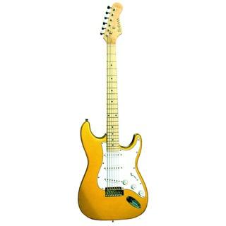 BadAax SST13 Gold Metallic Electric Guitar