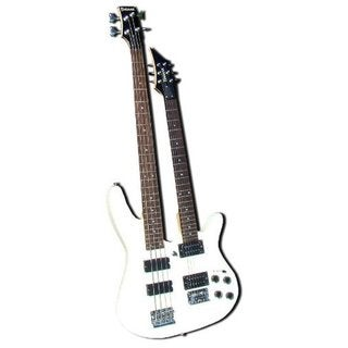 Bad Axx SDN-01 Double Neck 6-string Electric Guitar / 4-string Electric Bass