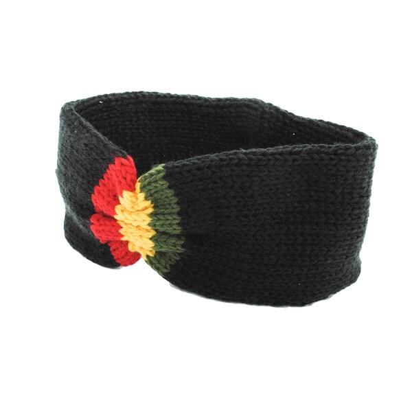 Unisex Knit Rasta Reggae Headband (Nepal)