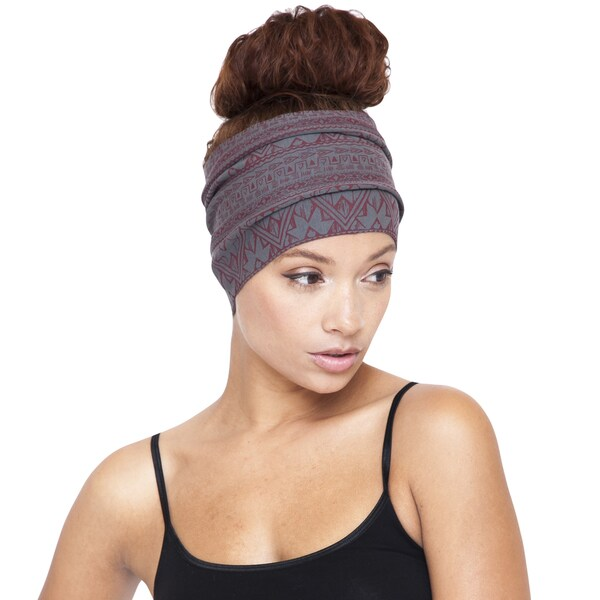 Organic Cotton Tribal Printed Fleece-lined Headband (Nepal)