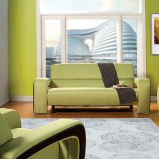 Furniture of America Perthan Modern Green Sofa
