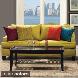 Furniture of America Colorful Tropak Padded Chenille Sofa