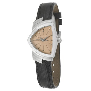 Hamilton Women's 'Ventura' Stainless Steel Swiss Quartz Watch