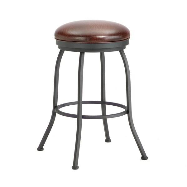Fielsole Swivel Backless Bar Stool 16585185 Overstock