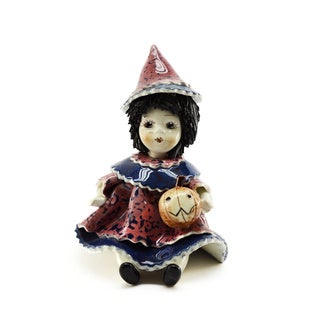 Authentic Italian Zampiva Halloween Girl Figurine