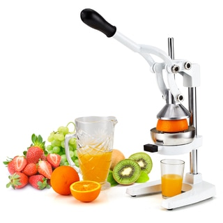 Cook N Home Hand Juicer Heavy Duty Manual Squeezer Press and G-style Clamp