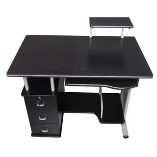Merax Office Contemporary Style Black Computer Desk