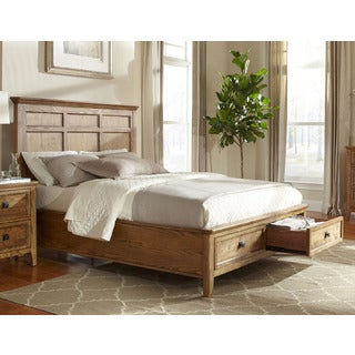Intercon Alta Solid Ash Storage Panel Bed