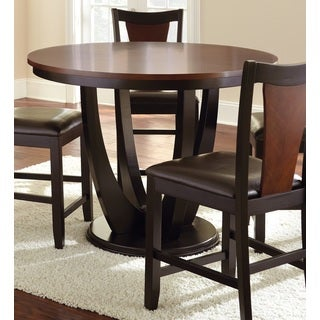 Olivia 2-tone Medium Cherry Counter Height Dining Table