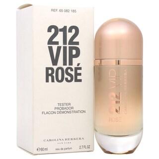 Carolina Herrera 212 VIP Rose Women's 2.7-ounce Eau de Parfum Spray (Tester)