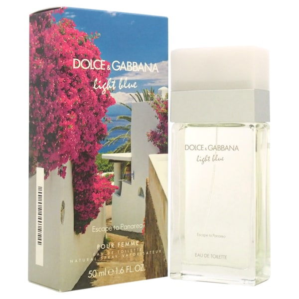 Dolce & Gabbana Light Blue Escape to Panarea Women's 1.6-ounce Eau de Toilette Spray
