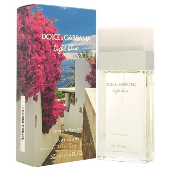 Dolce & Gabbana Light Blue Escape to Panarea Women's 1.6-ounce Eau de Toilette Spray