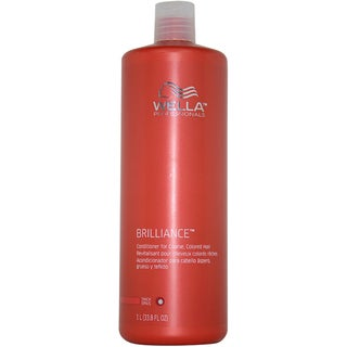 Wella Brilliance Conditioner For Coarse Colored Hair 33.8-ounce Conditioner