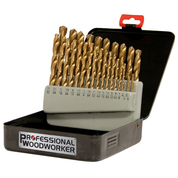 Professional Woodworker 29-piece Drill Bit Set