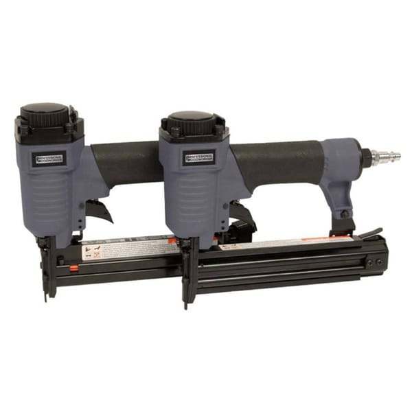Professional Woodworker Pneumatic Brad Nailer/ Air Stapler Combo Kit