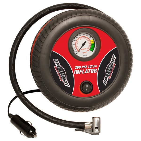 Speedway Compact Tire Shaped Inflator