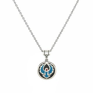 Jewelry by Dawn Stainless Steel Unisex Turquoise Eagle Pendant Necklace
