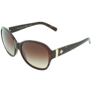 Tory Burch Women's TY9029 Oval Sunglasses