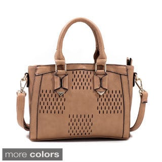 Dasein Perforated Design Shoulder Bag
