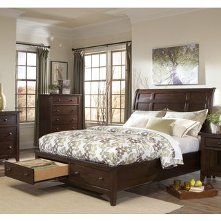 Intercon Jackson Solid Wood King Storage Bed