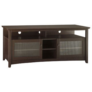 Bush Furniture Buena Vista TV Stand in Mocha Cherry