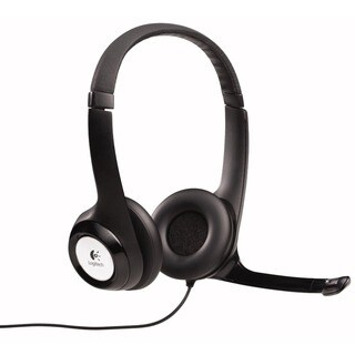 Logitech ClearChat Comfort/ USB Headset with Microphone (Refurbished)