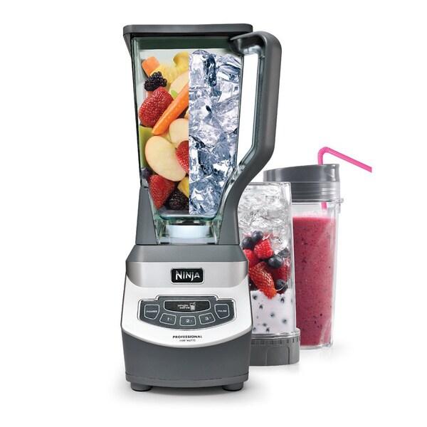 Ninja 1100-watt Professional 3-speed Blender with Single-serve Cups (Refurbished)