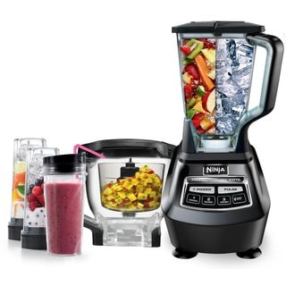 Ninja BL772 1500-watt Mega Kitchen System Blender w/ Meal Prep Kit and Bonus Nutri Ninja (Refurbished)