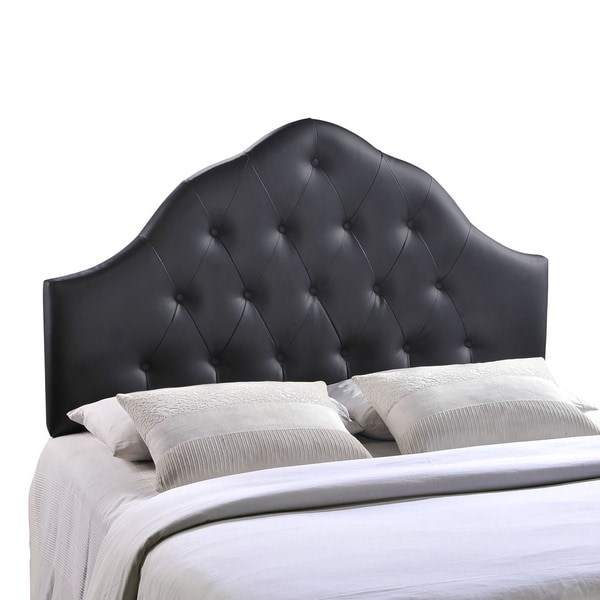 Sovereign Queen Vinyl Headboard Free Shipping Today Overstock Com