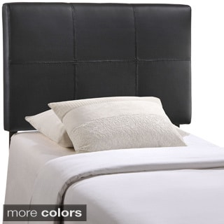 Quad Twin Vinyl Headboard
