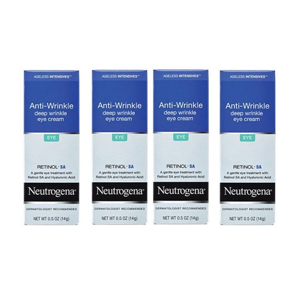 Neutrogena Ageless Intensives Anti-Wrinkle 0.5-ounce Eye Cream (Pack of 4)