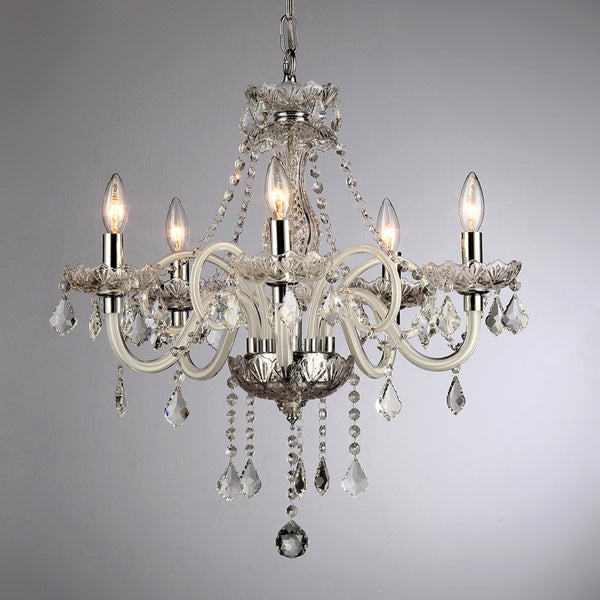 Gilliane Chrome Chandelier