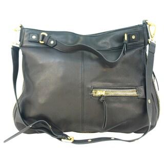 Hugo by Steve Madden Women's Black Satchel Handbag