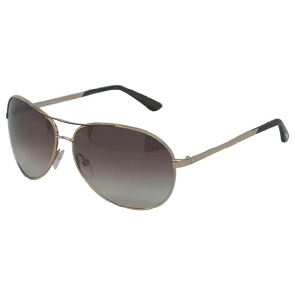 Tom Ford Unisex 'TF35 Charles 772' Goldtone Aviator Sunglasses