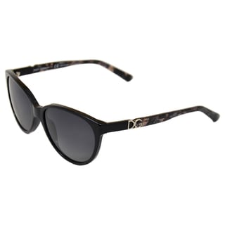 Dolce & Gabbana Women's 'DG 4171 2688/T3' Black Polarized Sunglasses