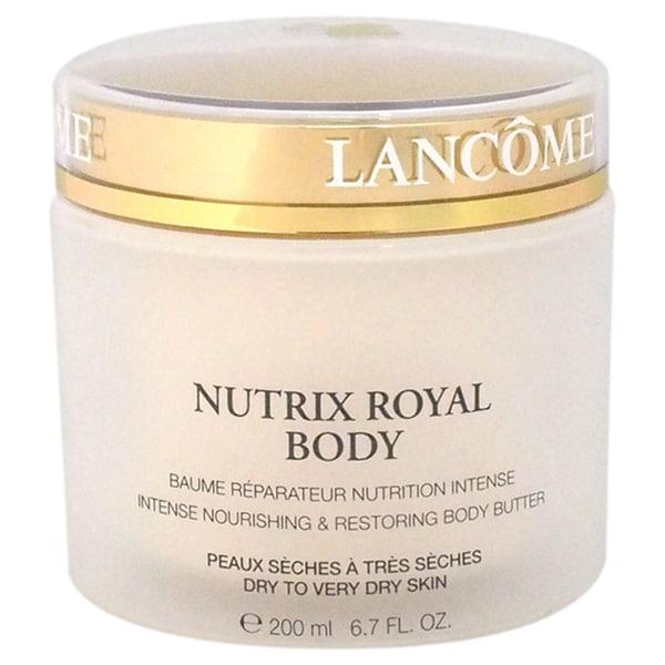 Lancome Nutrix Royal Body Untense Nourishing & Restoring Body Butter Dry To Very Dry Skin 6.7-ounce