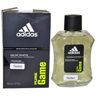 Adidas Pure Game Men's 3.4-ounce Eau de Toilette Spray (Tester)