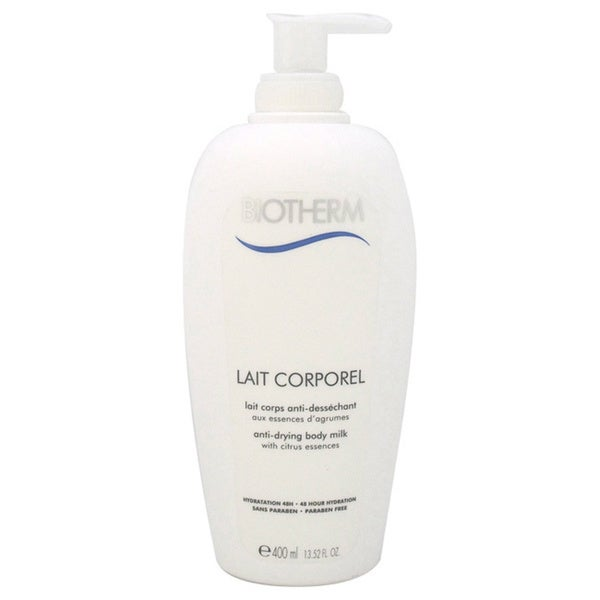 Biotherm Lait Corporel Anti-Drying Body Milk For Dry Skin 13.52-ounce Body Milk