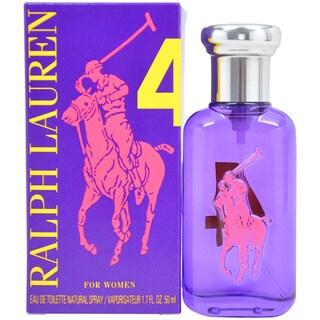 Ralph Lauren The Big Pony Collection # 4 Women's 1.7-ounce Eau de Toilette Spray