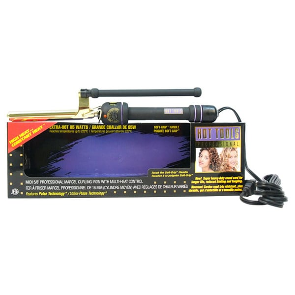 Hot Tools Professional Marcel 0.625-inch Curling Iron With Multi Heat Control