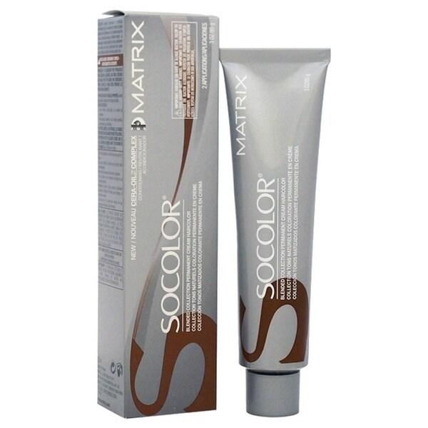 Matrix Socolor Permanent Cream Haircolor 6N Light Brown Neutral 3-ounce Haircolor