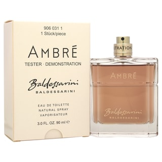 baldessarini ambre men 39 s 3 ounce eau de toilette spray. Black Bedroom Furniture Sets. Home Design Ideas