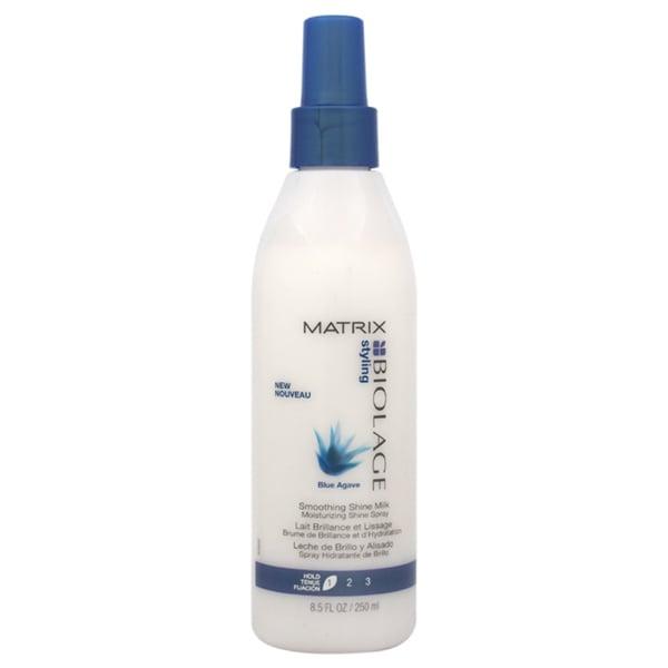 Matrix Biolage Styling Blue Agave Smoothing Shine 8.5-ounce Milk